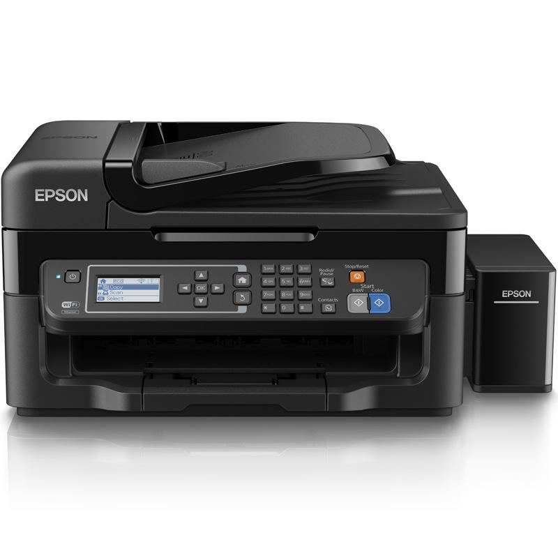 爱普生L565 墨仓式 网络传真打印机一体机