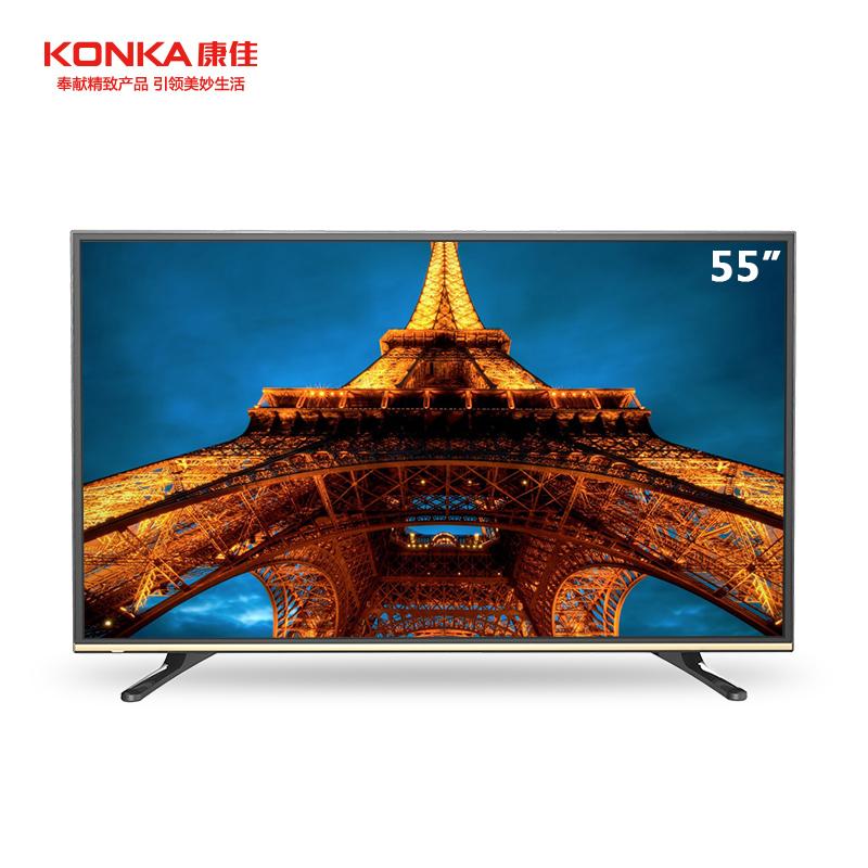 康佳(KONKA)LED55K35U 55英寸智能网络电视 窄边框、超薄LED、内置WIFI