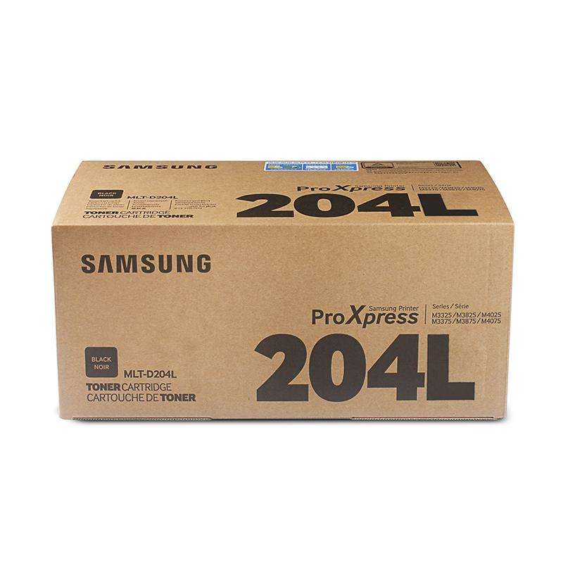 三星(SAMSUNG)MLT-D204L 黑色碳粉墨粉盒(适用于:M3325/3375/3825/3875/4025)