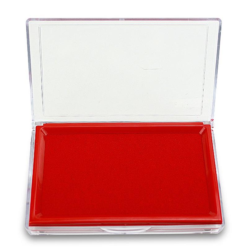 晨光(M&G)AYZ97513 方形塑壳快干印台 红色