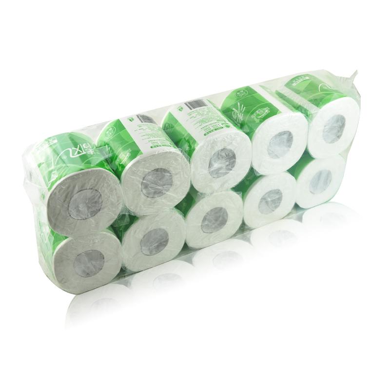 清风(APP)纸巾卷纸B22AA3有芯卷筒卫生纸3层245段/卷*10卷商务专用