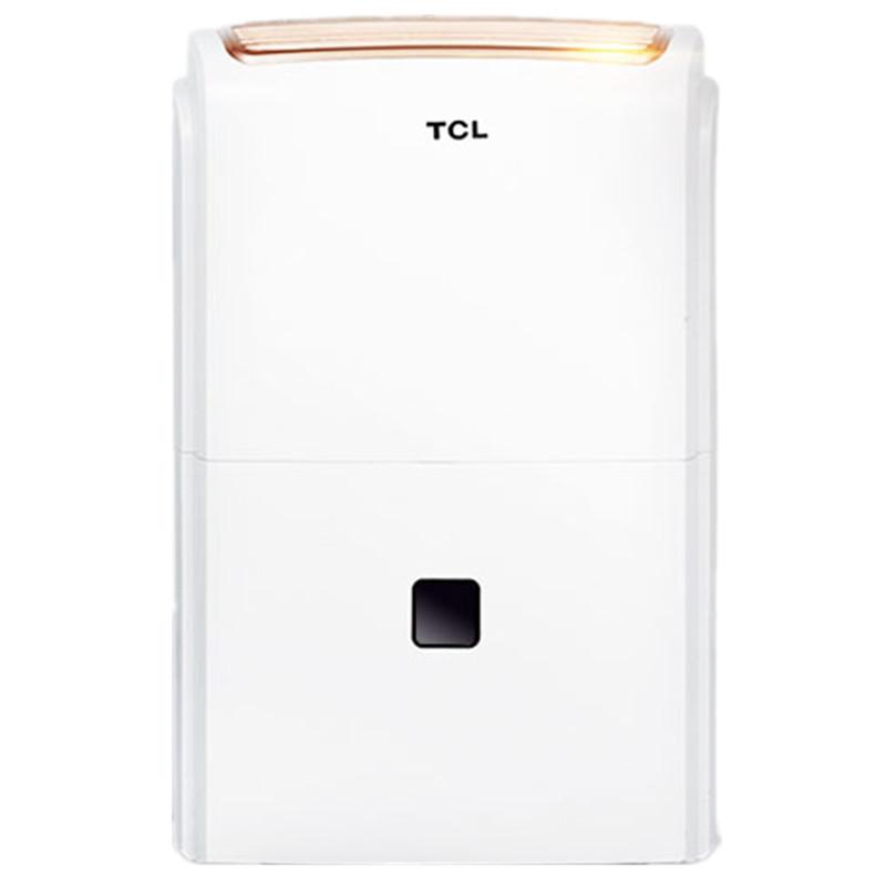 TCL DET50E 50升除湿机 新款智能数控 家用/地下室静音抽湿机/除湿器
