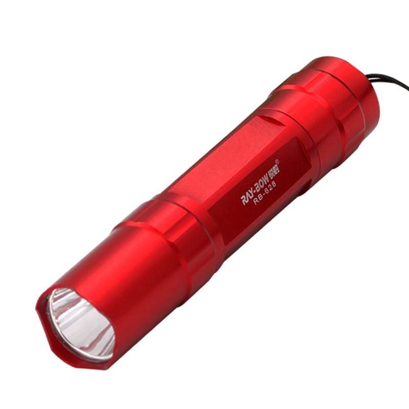锐豹(RAY-BOW)RB-628铝合金手电筒红色
