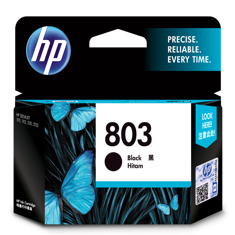 惠普(HP)F6V21AA(803)黑盒 (适用于:Deskjet1112 2132 1111 2131)