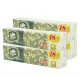 维达(Vinda)手帕纸倍韧系列3层10张香味卫生纸巾生活用纸 18包 x 4条组