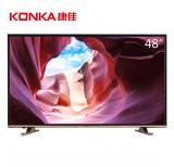 康佳(KONKA)LED48M2600B 48英寸金色拉边电视